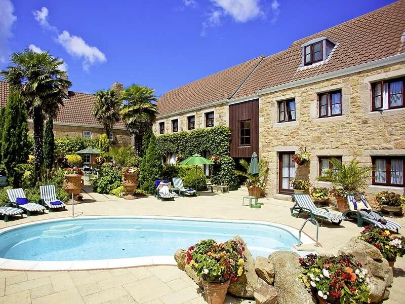 Basislager für unsere Standortreise auf Jersey: das Hotel Greenhills in der Nähe von St Peter