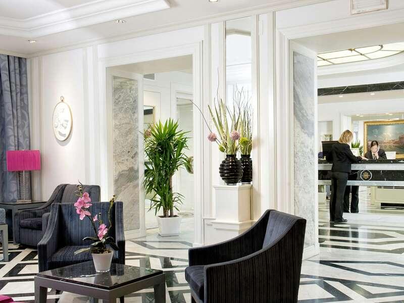 Hotel Imperiale in Rom, wor wir bei der Citylights Reise Rom -7 Tage übernachten