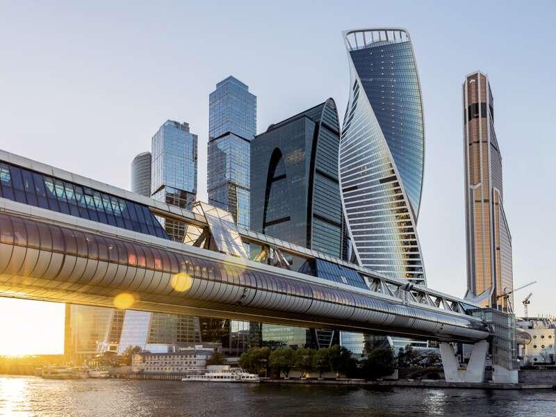 Auf Ihrer Städtereise nach Moskau sehen Sie auch die modernen Seiten der Stadt.