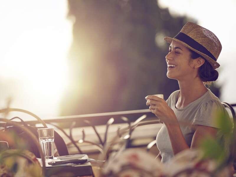 Genießen Sie  auf unserer Rundreise über die Insel Sizilien immer wieder entspannte Kaffeepausen!