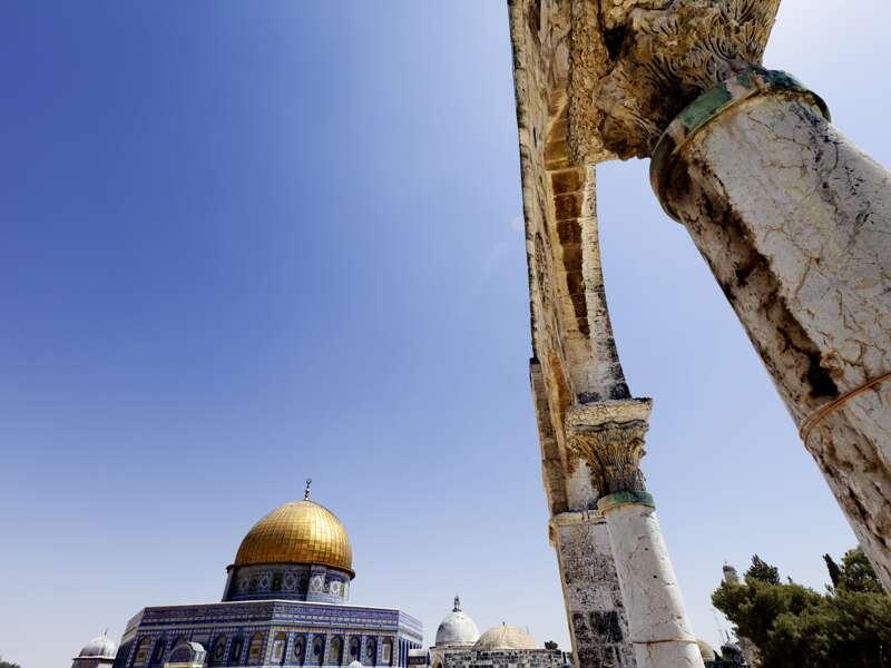 felsendom-säulen-jerusalem