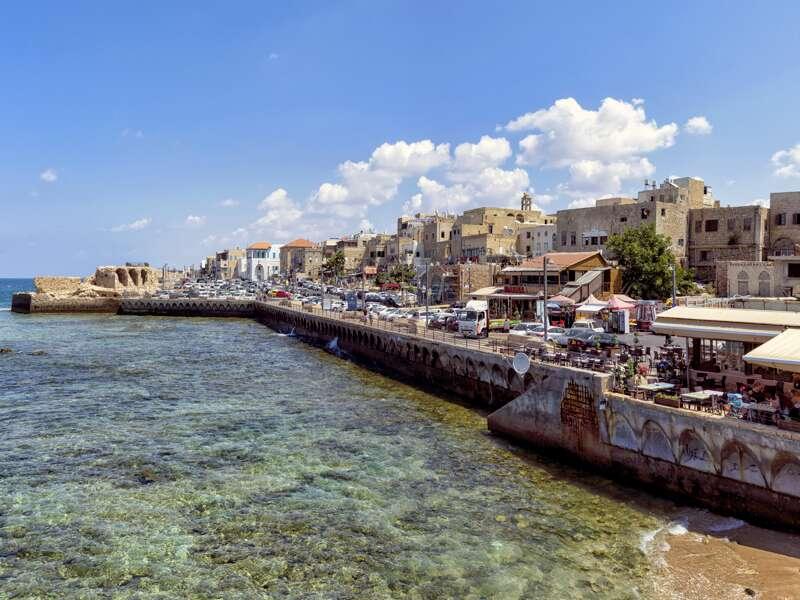 Auf dieser Studienreise durch Israel zwischen Mittelmeer, Golanhöhen, Totem Meer und Rotem Meer sehen wir auch die alte Kreuzfahrerstadt Akko.