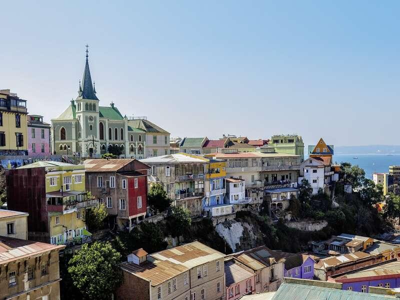 Auf unserer Studiosusreise durch Chile und Argentinien besuchen wir die chilenische Hafenstadt Valparaíso (UNESCO-Weltkulturerbe).
