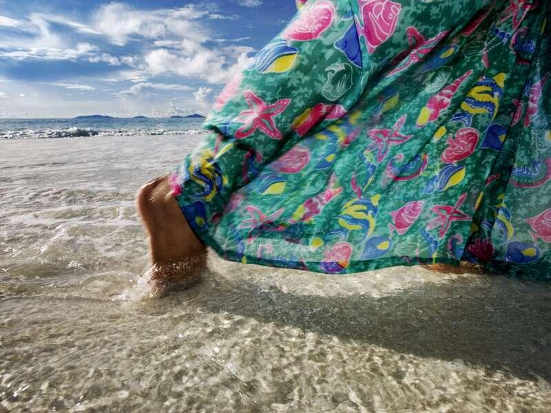 Auf unserer Reise zu den Inseln im Indischen Ozean, ist auf Mauritius, Réunion und den Seychellen Zeit für Strandspaziergänge