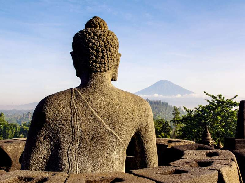 Unsere Studienreise nach Indonesien hat viele Highlights im Programm wie z.B. den Tempel Borobudur auf Java.
