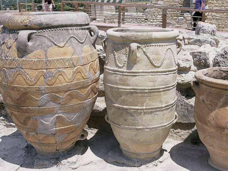 Auf unserer Studienreise nach Kreta besuchen wir den minoischen Palast in Knossos.