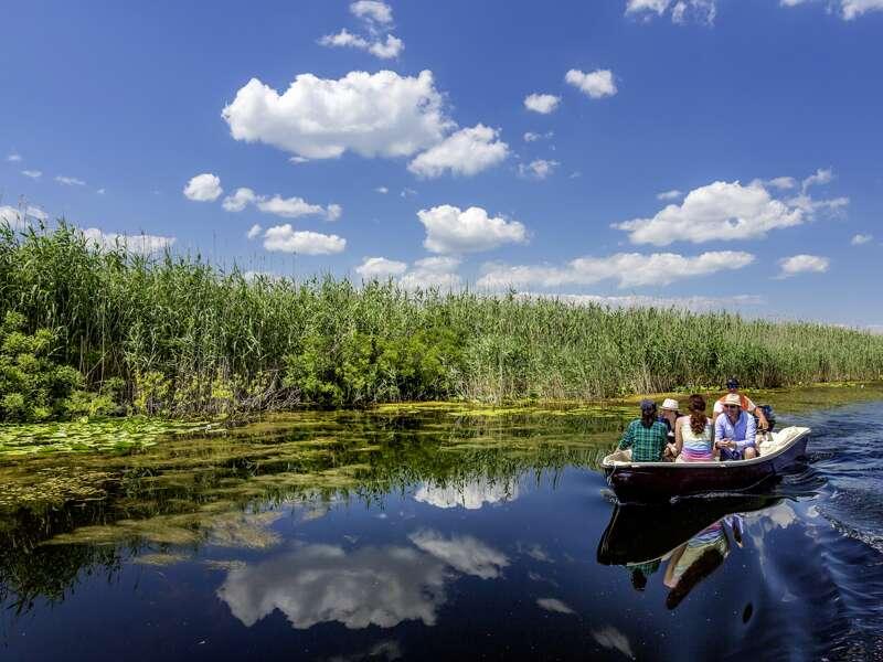 Auf unserer Studienreise durch Rumänien besuchen wir auf mehreren Bootstouren das Donaudelta, einen der artenreichsten und am strengsten geschützten Naturräume Europas.