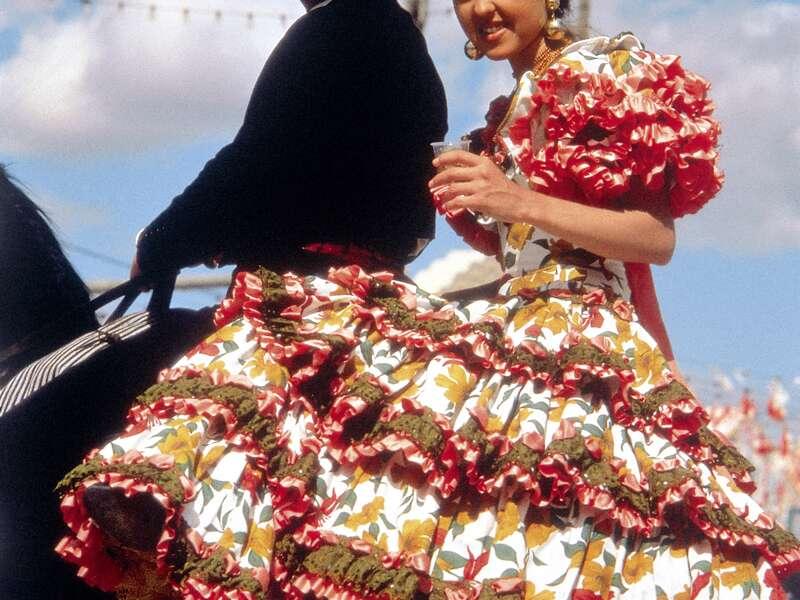 Mit Studiosus in Andalusien haben Sie auch Gelegenheit in die spanische Kultur auf eine der vielen Fiestas einzutauchen.