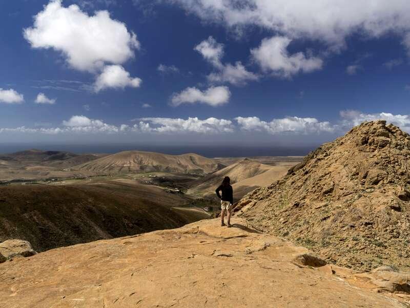 Wir erkunden die Insel Fuerteventura auf unserer Kanaren-Rundreise mit Studiosus. Unser Reiseleiter kennt die schönste Flecken und Aussichtspunkte der Insel.