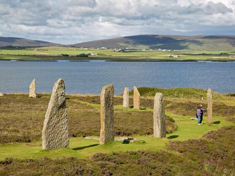 Auf unserer Studienreise nach Schottland besuchen wir die Orkney-Inseln mit dem geheimnisvollen Ring of Bodgar