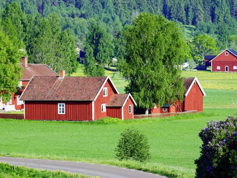 Provinz Smaland in Schweden