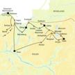 Per Mietwagen durch Polens Norden: Unsere Route