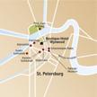 Stadtplan St. Petersburg