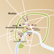 Stadtplan Moskau