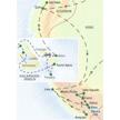 Unsere Reiseroute durch Ecuador mit den Galápagosinseln und weiter nach Peru