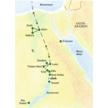 Reisekarte Ägypten - Kairo und Nilkreuzfahrt