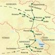 Route KlassikStudienreise Armenien Georgien