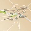 Stadtplan der Silvesterreise Berlin