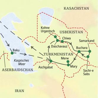 Baku Aserbaidschan Karte.Beiderseits Des Kaspischen Meeres Zwischen Baku Und
