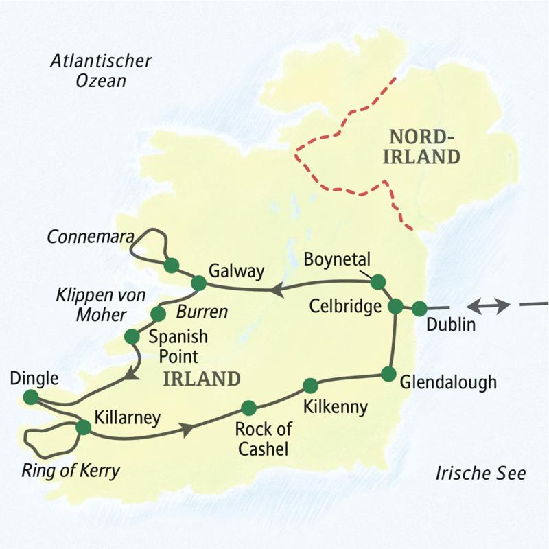 Irland – Höhepunkte (ST 1201) :: Studiosus Studienreise :: Saison 2018