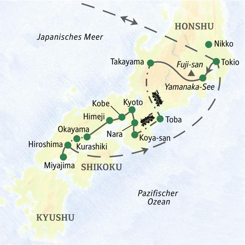 Rundreise Weihnachten 2019.Studienreise Mit Studiosus Japan Die Umfassende Reise