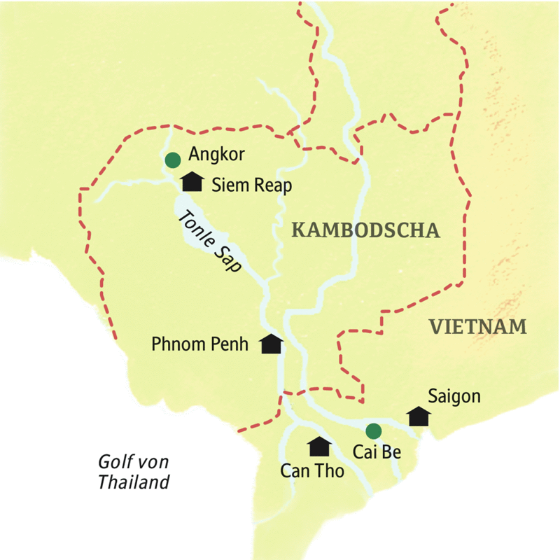 Malaria Kambodscha Karte.Smart Small Mit Studiosus Südvietnam Kambodscha Tropencharme Und Tempelwelt