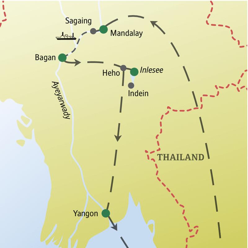 Als Single reisen mit Studiosus: Myanmar