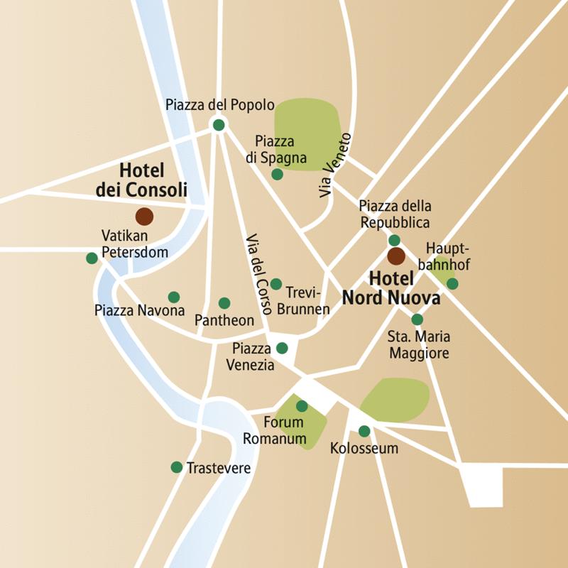 Fünf Tage für die Ewigkeit! Entdecken Sie auf dieser CityLights-Städtereise vormittags die Höhepunkte von Rom mit Ihrer Studiosus-Reiseleiterin und genießen Sie nachmittags das Dolce Vita.