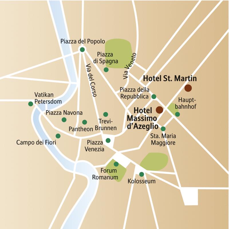 Sechs Tage für die Ewigkeit! Entdecken Sie auf dieser CityLights-Städtereise vormittags Pantheon und Petersdom, Kolosseum und Kapitol, nachmittags Cafés, Boutiquen und Ristoranti.