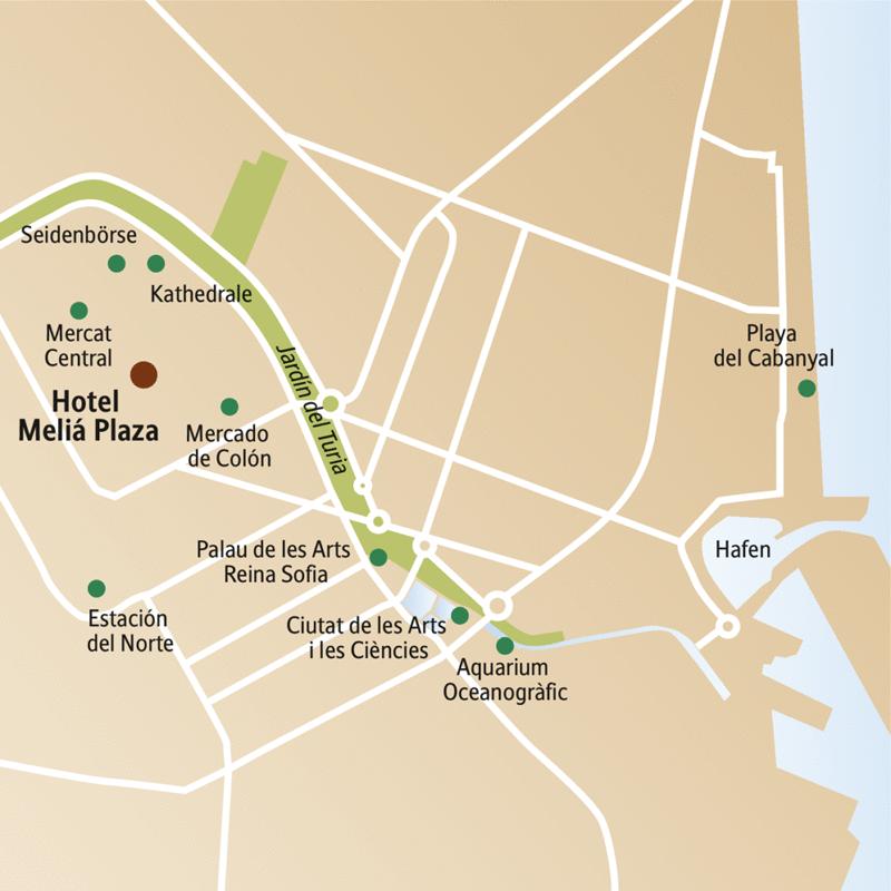Moderne Architektur von Calatrava, Seidenbörse, Kunstschätze von Gotik bis Jugendstil -  lernen Sie Valencia auf dieser CityLights-Städtereise in fünf Tagen genauer kennen. Programm mit Studiosus-Reiseleiterin und mit viel Zeit für eigene Entdeckungen vom zentral gelegenen Hotel aus.