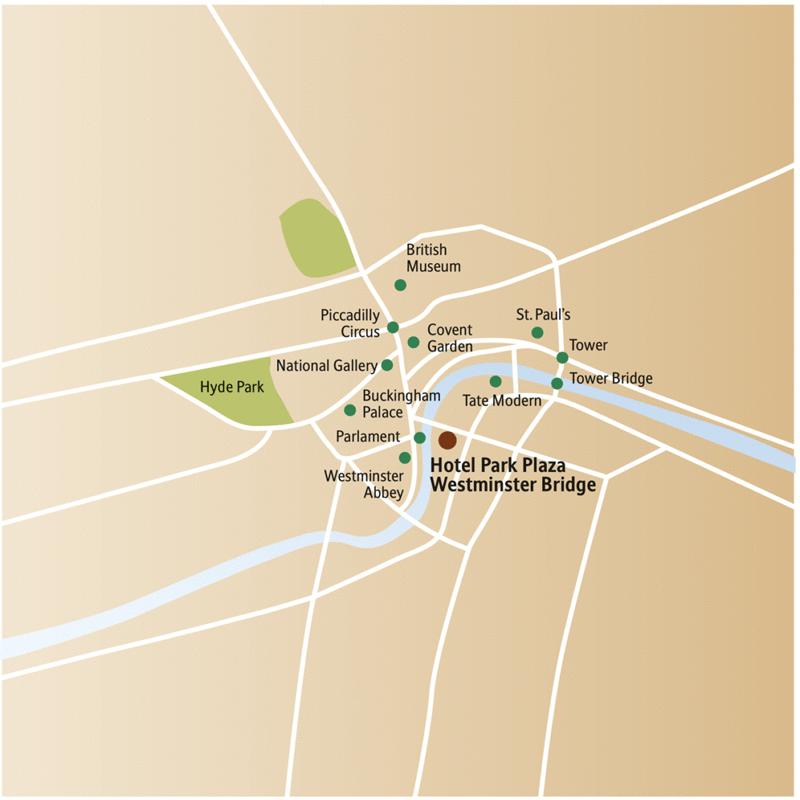 Ihr Hotel während Ihrer 6-tägigen Städtereise nach London liegt sehr zentral, direkt gegenüber Big Ben und den Houses of Parliament.