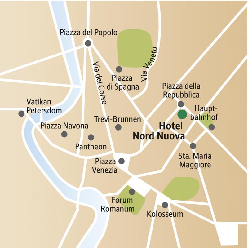 Die Highlights in Rom, wie Kolosseum, Petersdom, Märkte und die schönsten Einkaufsstraßen, sind im Programm unserer Städtereise für Singles und Alleinreisende.