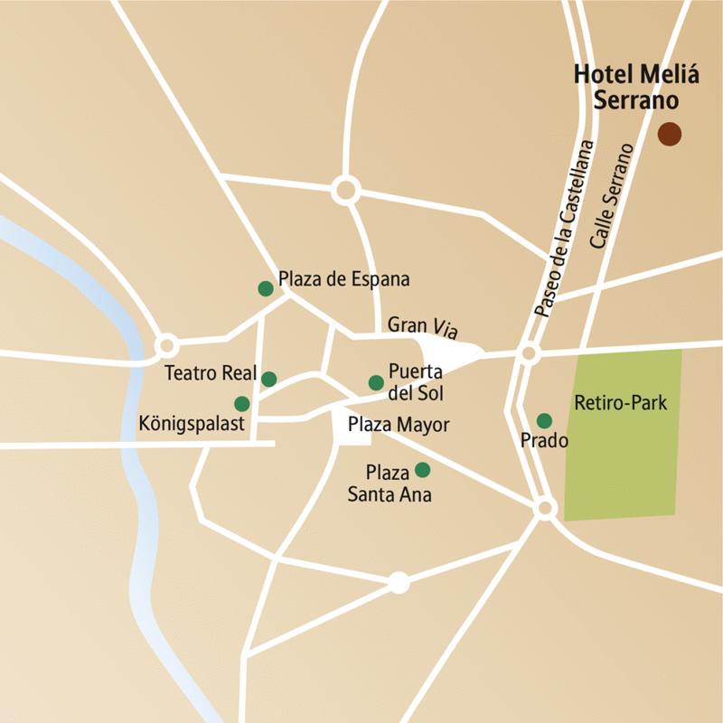 Prado, Königsplatz, das Thyssen-Bornemisza-Museum und die Calle Serrano - das und mehr steht auf dem Programm unserer Silvesterreise nach Madrid.